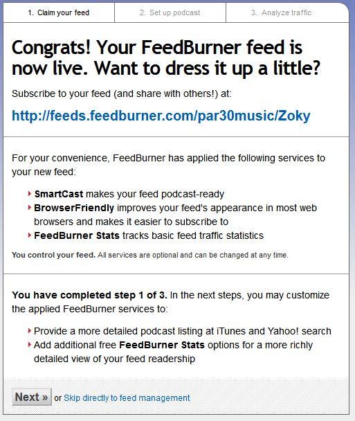 feedburner4 آموزش کامل فیدبرنر و ساخت خبرنامه رایگان با FeedBurner