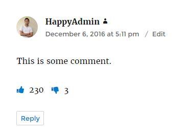 comments-like-dislike-preview افزونه لایک و دیس لایک دیدگاه در وردپرس