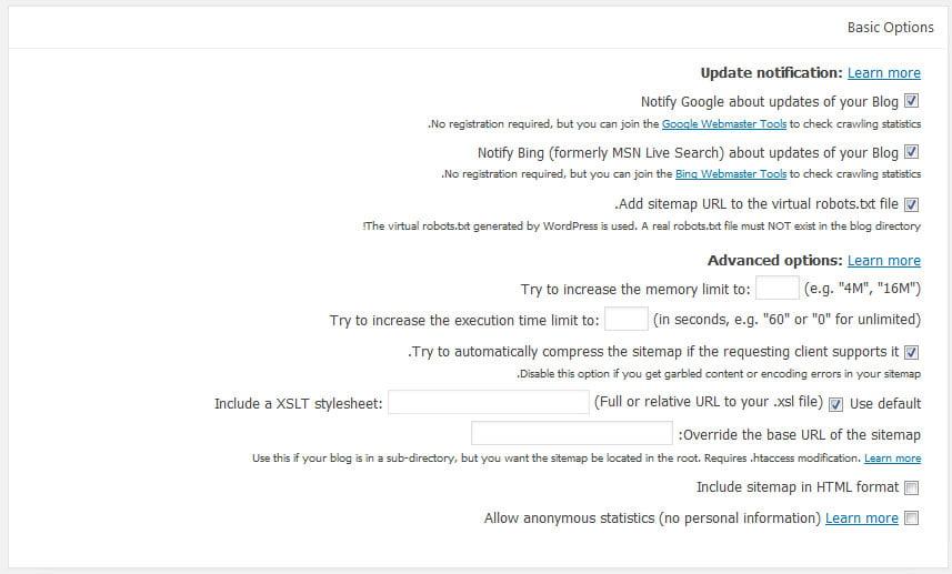 google-sitemap-generator-2 افزونه ایجاد نقشه سایت وردپرس
