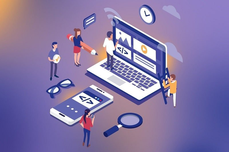 مشاوره رایگان راه اندازی کسب کار , طراحی سایت و اپلیکیشن با رابینت