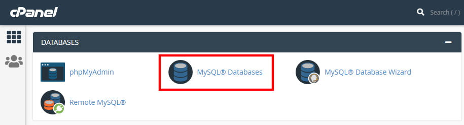 mysql-database رفع خطای Error Establishing a Database Connection در وردپرس