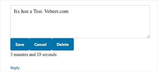 edit-comments-wordpress-3 حذف و ویرایش نظرات توسط کاربران در وردپرس