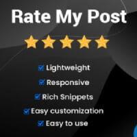امتیاز دهی به مطالب وردپرس با افزونه Rate my Post