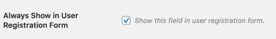 اضافه کردن فیلد جدید به فرم ثبت نام وردپرس