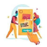 چطوری رابط کاربری ( ui ) طراحی کنیم ؟
