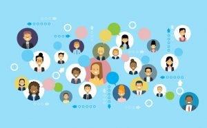 سوشیال نتورک یا جامعه اینترنتی در وبیت