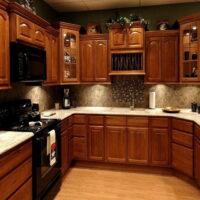 انتخاب رنگ کابینت چوبی مناسب با دکوراسیون چوبی